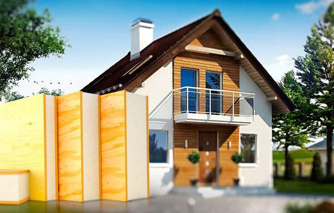 Дома из SIP панелей «Майтек Изолюкс»