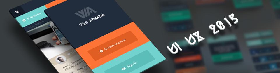 Тренды дизайна сайтов и мобильных приложений